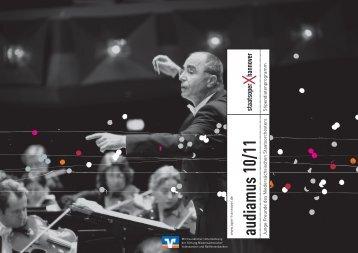 audiam us 10/11 - Niedersächsische Staatstheater Hannover