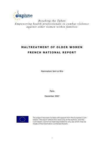 National Report_France - Österreichisches Rotes Kreuz