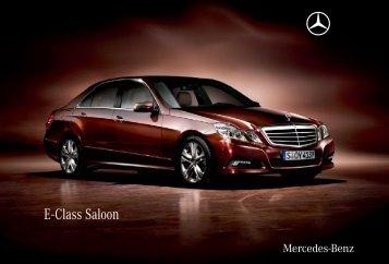 E - Class Saloon - Mercedes-Benz Magyarország
