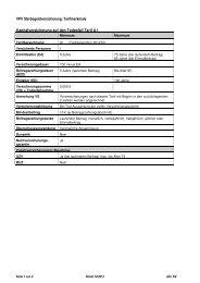 Sterbegeld Tarifmerkmale - VPV Makler
