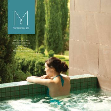 The Mineral Spa hepburn SpringS a SancTuary of healing ... - Peppers