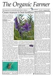 Green manure is best fertilizer - Infonet-Biovision