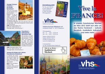 Vive la France! - Kulturvision