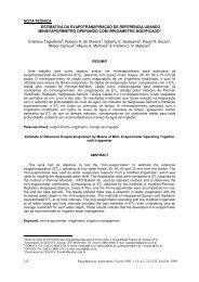 nota técnica estimativa da evapotranspiração de ... - Monografias.com