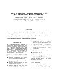 Download PDF Template - International Meshing Roundtable