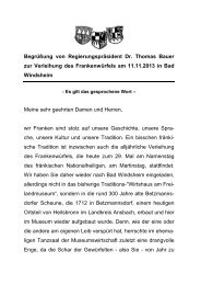 RMF-Rede DIN-A5 - Regierung von Mittelfranken