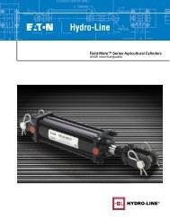 Field-Mate Non-ASAE Series Cylinder Dimensions