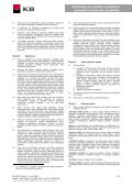 Podmínky pro vydání a používání osobního a ... - Komerční banka - Page 2