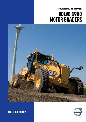 G900 Series - Volvo Construction Equipment