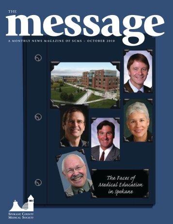 october 2010 - Spokane County Medical Society