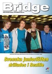 Sid 1-18 - Förbundet Svensk Bridge