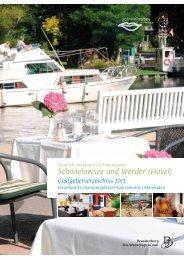 Gastgeberverzeichnis 2013 (PDF, 11 MB) - Caputh