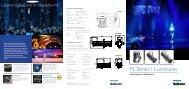PL Series 1 LED Luminaires 6-page Brochure - Selecon