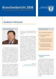 Handwerk in Dortmund - Wirtschaftsförderung Dortmund