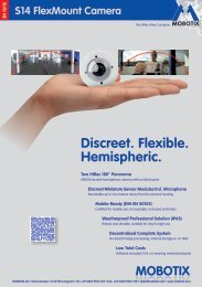 S14 FlexMount Camera - Mobotix