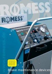 Brake maintenance devices - Romess Rogg
