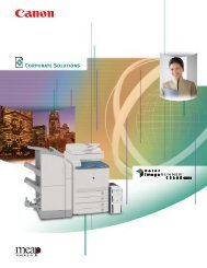Color imageRUNNER C5180 Brochure - American Business Copiers