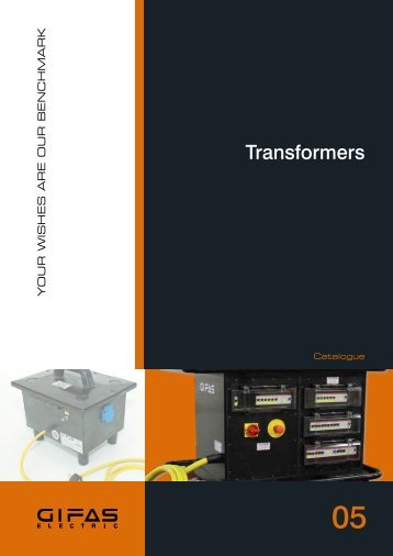Transformers - GIFAS W.J. Gröninger ELECTRIC GmbH