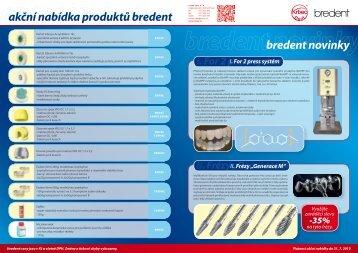 bredent novinky akční nabídka produktů bredent - Krbec Dent sro