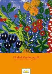 Kinderkalender 2008 - Österreichische Kinder-Krebs-Hilfe