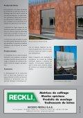 Matrices de coffrage RECKLI – Quand le béton prend forme! - Page 4