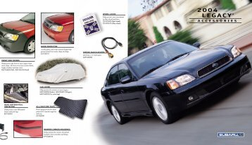 2004 LEGACY - Subaru of America