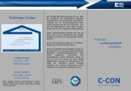 Technische Trainings CAD- / CAE - C-Con Gmbh