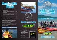 North Shore Yakity Yak Club - Canoe & Kayak