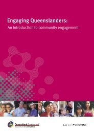 Engaging Queenslanders: An introduction to community engagement
