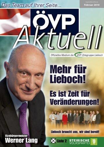 Februar 2010 - ÖVP Lieboch