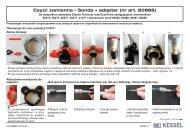 Część zamienna – Sonda + adapter (nr art. 80888) - Kessel Design