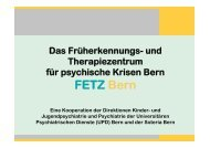 FETZ Bern - Soteria Bern