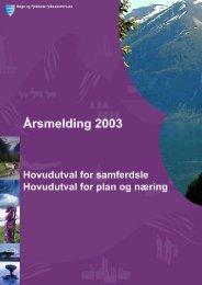 hovudutval for samferdsle - Sogn og Fjordane fylkeskommune