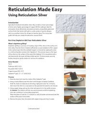 Using Reticulation Silver - Rio Grande