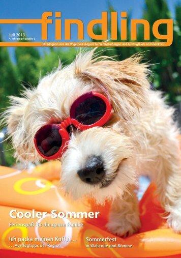 Cooler Sommer Ferienspaß für die ganze Familie - Findling ...