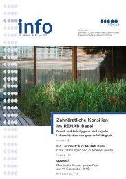 REHAB Info 2/2010 - REHAB Basel