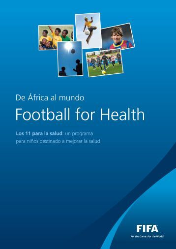 "Folleto de ""Football For Health"" (Fútbol por la Salud) - FIFA.com"