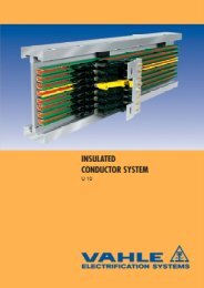 INSULATED CONDUCTOR SYSTEM - VAHLE, Inc