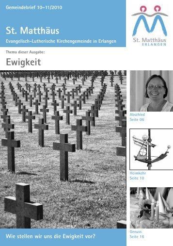 Ausgabe Oktober bis November 2010 - Evang.-Luth ...