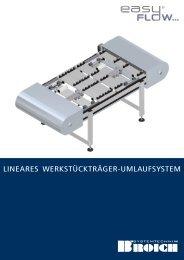 lineares werkstückträger-umlaufsystem - Broich-Systemtechnik GmbH