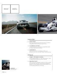 Ladda ner Innehållsförteckningen för BMW Magasin Vårnumret 2007.