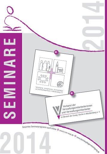SEMINARE - Verband der Verwaltungsmitarbeitenden