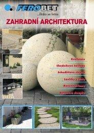 zahradní architektura Ferobet - TRIMOT
