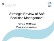 Strategic Review of Soft Facilities Management - Health Facilities ...