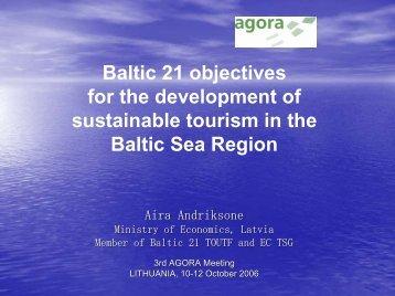 Baltic Sea Region Tourism