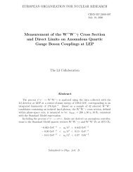 Measurement of the W+W −γ Cross Section and Direct Limits on - Hal