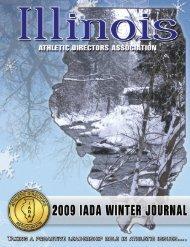 2009 Winter Newsletter - Illinois Athletic Directors Association