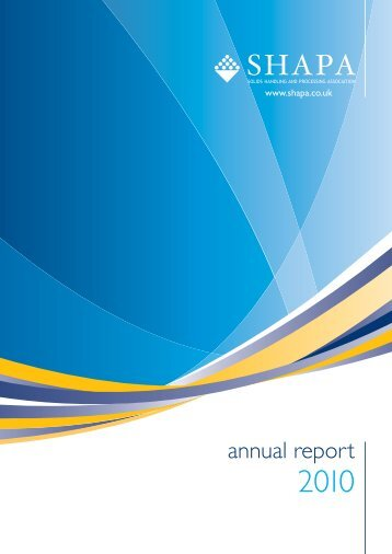 download the SHAPA 2010 Annual Report (PDF) - Shapa Solids ...