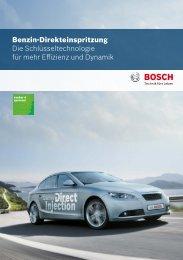 Bosch Benzin-Direkteinspritzung Mappe und Datenblätter (PDF 6,43 ...