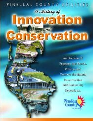 Table of contents - Pinellas County